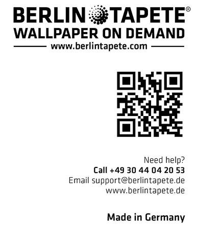 Berlintapete Logo und Kontakt