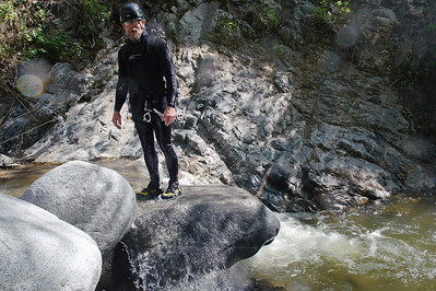 10_04_10 canyoneering Eaton Canyon 0909