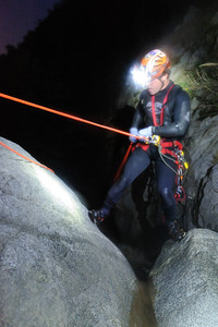12_03_28 Canyoneering LSA at night 0028