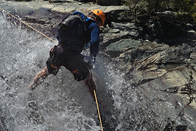 10_05_29 Canyoneering San Antonio Creek 0409