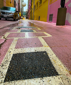 Hopscotch in pink