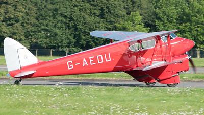 Biggin Hill, DH90A, De Havilland, Dragonfly, Festival of Flight 2017, G-AEDU; London Biggin Hill Airport,Biggin Hill,London,England