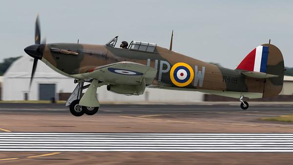 Arrivals, Hawker, Hurricane, Hurricane MK 1, R4118, RIAT 2015