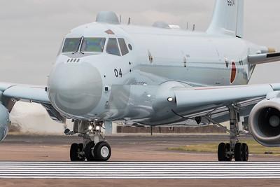 5504, Arrivals, JMSDF, Japanese Maritime Defence Force, Kawasaki P-1, Maritime Patrol Aircraft, RIAT 2015