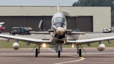 Arrivals, Beechcraft, N630LA, RIAT 2015, T-6, Taxan II