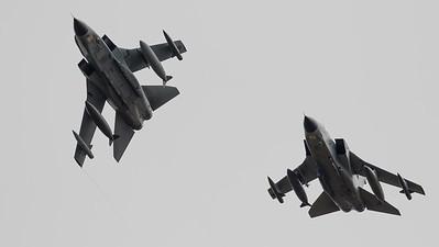 45-71, 45-88, Arrivals, German Air Force, Panavia Aircraft, RIAT 2015, Tornado PA-200
