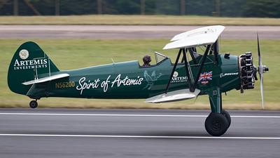 Boeing, N56200, RIAT 2015, Spirit of Artemis, Stearman N2S