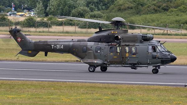 AS332TH06, Aerospatiale, RIAT 2015, Super Puma, Swiss Air Force, T-314