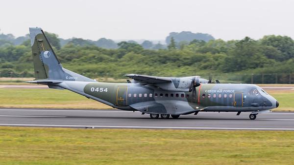 0454, C-295M, CASA, Czech Air Force, RIAT 2015