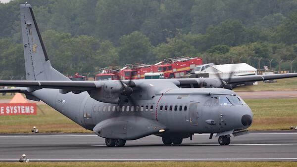 C-295M, CASA, CC-3, Finnish Air Force, RIAT 2015