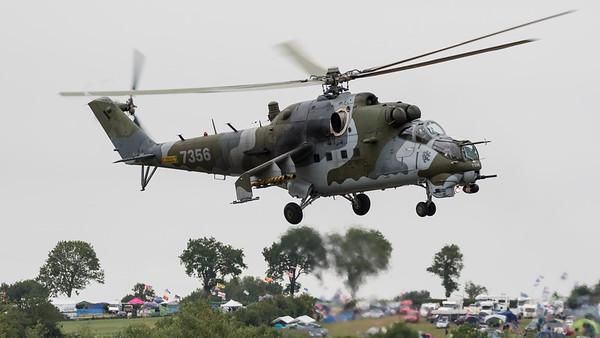 087356, Hind, Mi-24V, Mil, RIAT 2015
