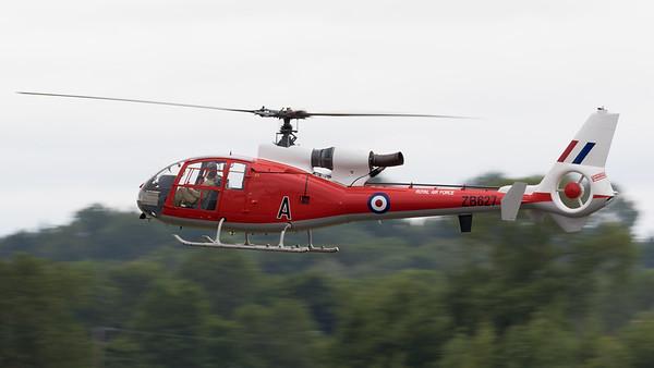 Gazelle, HT.2, RIAT 2015, The Gazelle Squadron, Westland, ZB627