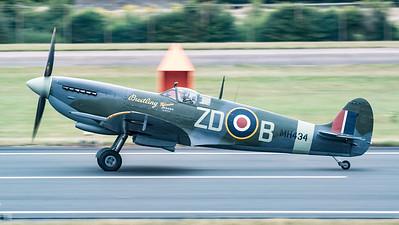 MH434, RIAT, RIAT2015, Spitfire, Spitfire LF Mk.IXb, Supermarine