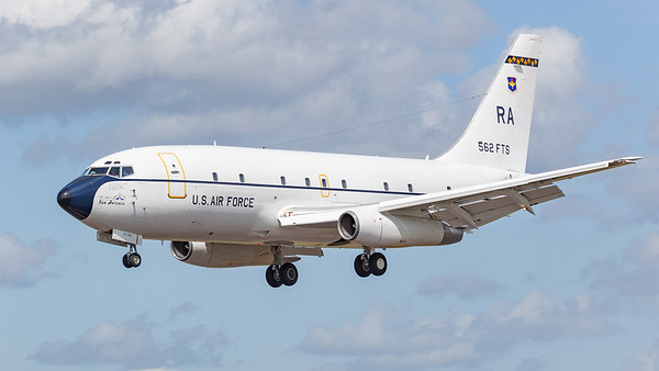 562 FTS, 737-200, Boeing, Flying Training Squadron, Gator, RIAT 2009, T-43, THE SPIRIT OF SAN ANTONIO, US Air Force - 15/07/2009