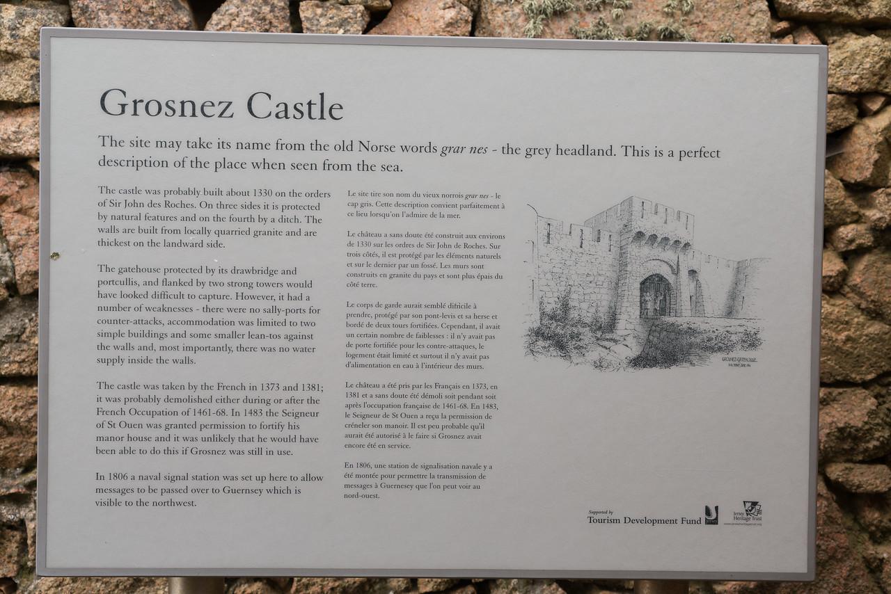 Jersey; Grosnez Castle,,St Ouen,Jersey