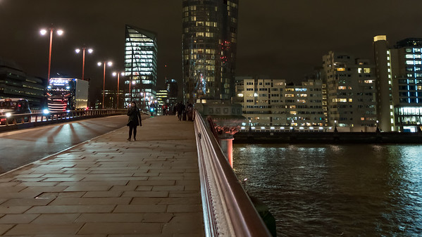 London @ Blackfriars Station North Entrance (Stop L), City of London,England