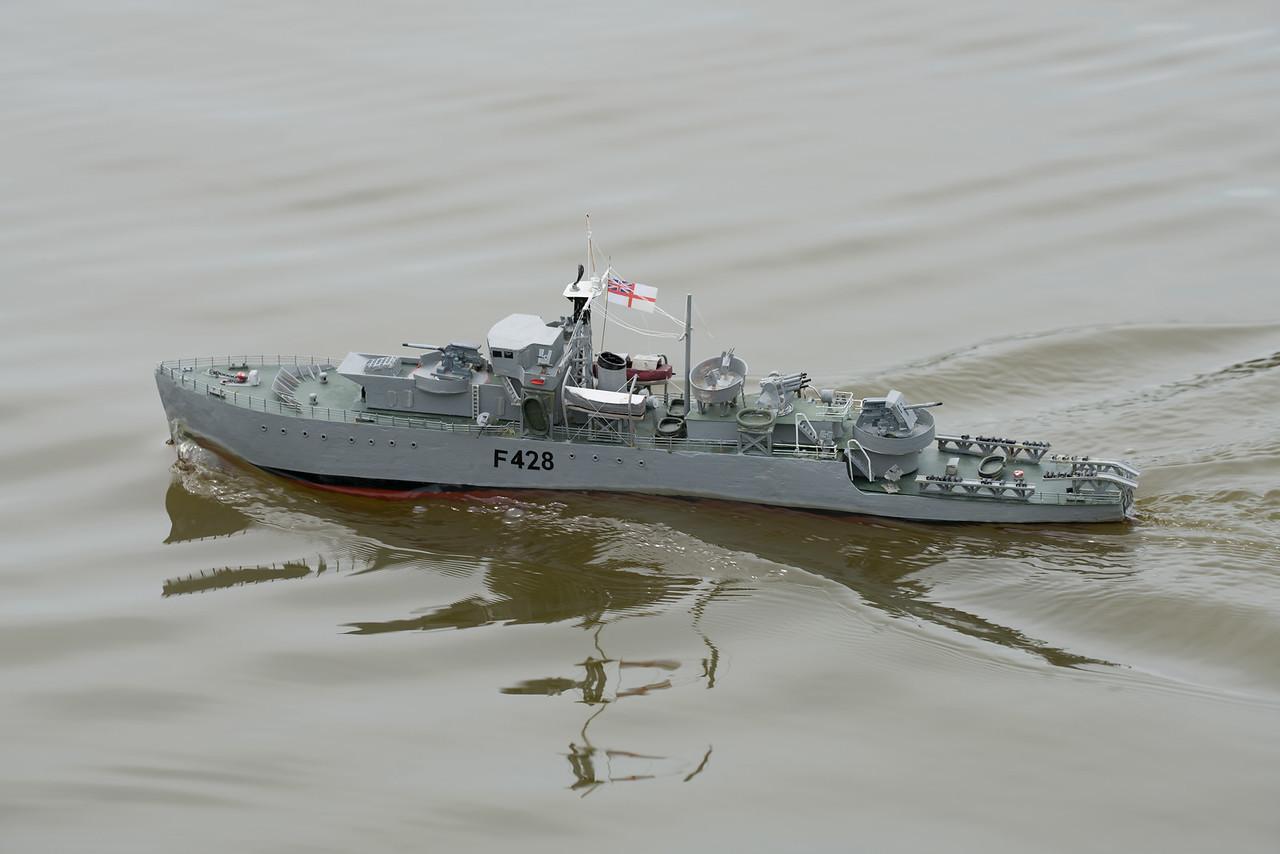 F428, Frigate, HMS Loch Alvie, Navy Day 2017, Richard Coombs, SRCMBC, Setley Pond, Solent Radio Control Model Boat Club