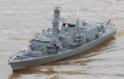 David McNair-Taylor, F229, HMS Lancaster, SRCMBC, Solent Radio Control Model Boat Club, Type 23 Frigate