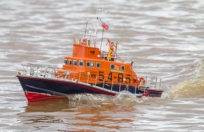 Arun class Lifeboat, David McNair-Taylor, RNLB BP Forties, SRCMBC, Solent Radio Control Model Boat Club