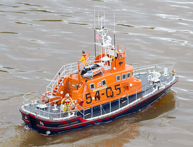 Arun class Lifeboat, David McNair-Taylor, RNLB BP Forties, SRCMBC, Solent Radio Control Model Boat Club