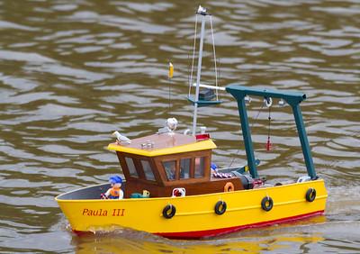 General Purpose Work Boat, Lorna and Andrew Soffe, Paula III, SRCMBC, Salvage Ship, Solent Radio Control Model Boat Club