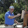 <b>Plein Air Artist Ralph Papa</b> Everglades Day, February 14, 2015 <i>- Anthony Lang</i>