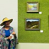 Plein Air Art Reception - Carolyn Covert with Judge's Recognition for Marshall's Magic