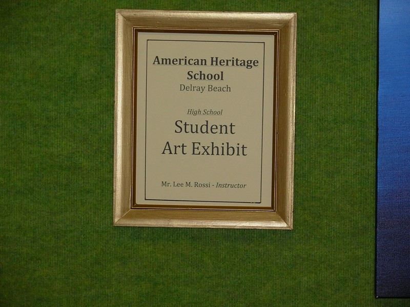 Student Art Exhibit