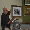 Judge Ralph Papa Displays Tykie Ganz' Snow Whet Owl