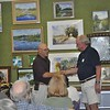 Ralph Papa Awards Bob Barfknecht with Honorable Mention for Loxahatchee Morning