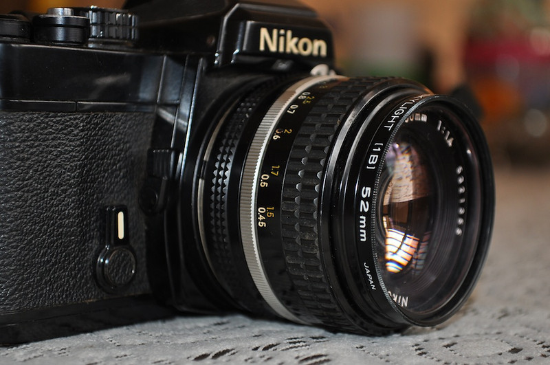 Old Lens of Nikon by Suresh