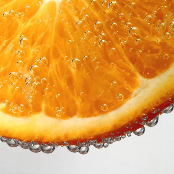 CCC79-19 - Orange in Bubbles by Photo-Tamara