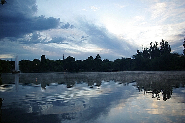 CCC81-31 - Zoo Lake at Dusk by noelcmn