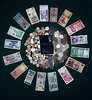 CCC90-18 - Bureau Du Change - 12 Currencies Plus Coins Pluc Mastercard by noelcmn