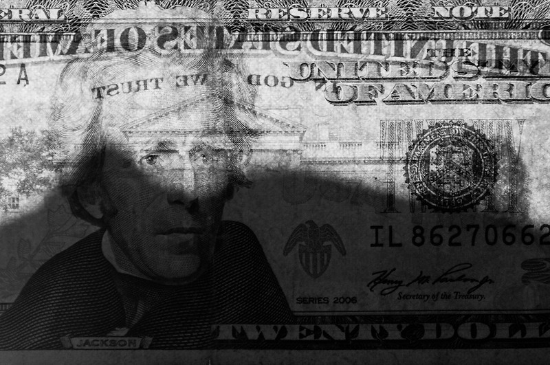 CCC90-15 - Twenty Dollar Bill by Clay Olmstead