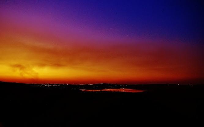 CCC99-14 - Rietvlei Dam at Sunset