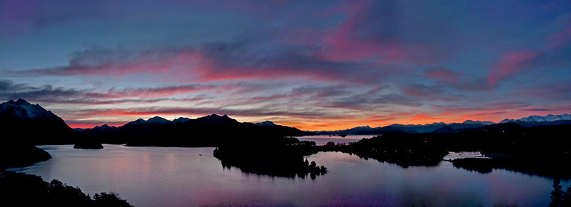 CCC99-35 - Mountain Sunset