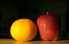 Apple & Orange by Commando303