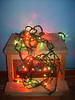 Xmas Lights on a Stool by Tricky0001979