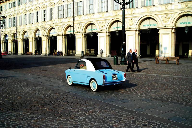 Little Blue Car by stego