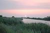 Description - Sunset over Marsh and Canal <b>Title - Everglades Sunset</b> <i>- Joe Silvia</i>