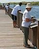 Description - Fishing on Pier <b>Title - Bridging the Gap</b> <i>- Kristine Parsons</i>