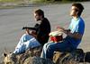 Description - Musicians at Boat Ramp <b>Title - Musicians</b> 3rd Place <i>- Leonard Friedman</i>