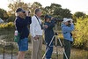 Description - Birdwatchers <b>Title - Lovers of Loxahatchee - Birding</b> 2nd Place <i>- Leonard Hellerman</i>