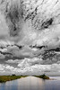Description - Clouds over Marsh and Canal <b>Title - Very Big Sky</b> <i>- Bob Grauer</i>