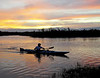 Description - Kayaker at Sunset <b>Title - Kayaker</b> Honorable Mention <i>- Fran Swirsky</i>