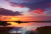 Description - Sunset <b>Title - Loxahatchee Sunset</b> <i>- Bob Grauer</i>