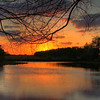 Description - Lake Sunset <b>Title - Lox Sunset</b> <i>- Greg Matthews</i>