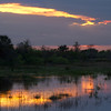 Description - Sunset Over Marsh <b>Title - Sunset 2</b> <i>- Joan Funk</i>