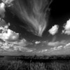 Description - Clouds Over Marsh <b>Title - Cloudscape</b> <i>- Jeremy Raines</i>